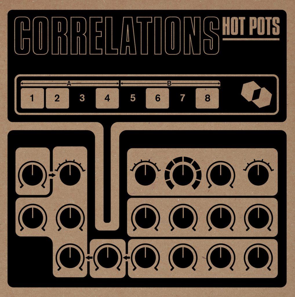 Correlations - Hot Pots album cover.